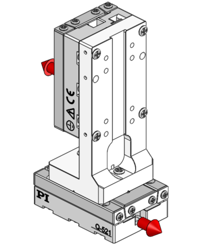 [Translate to Chinese:] 180° orientation of adapter brackets and upper stage to the lower stage