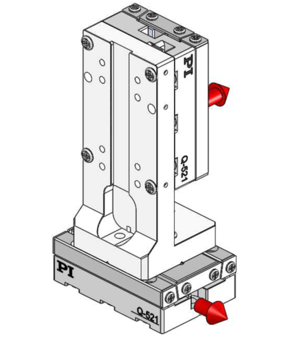 [Translate to Chinese:] 90° orientation of adapter brackets and upper stage to the lower stage