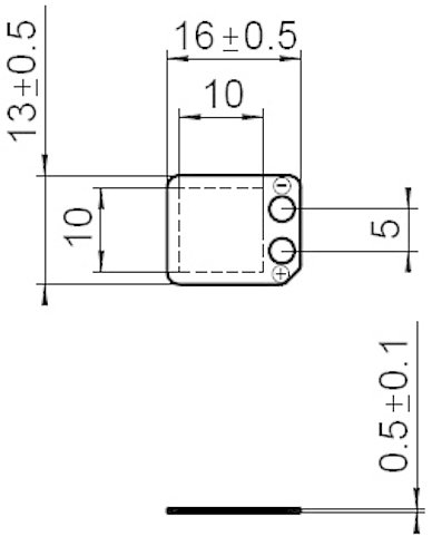 P-876.SP1, dimensions in mm